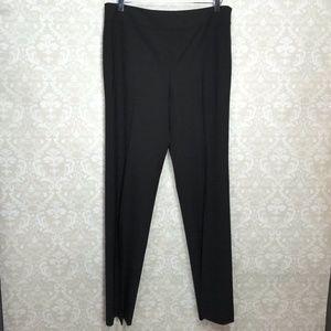 Lafayette 148 Wool Stretch Black Career Pants